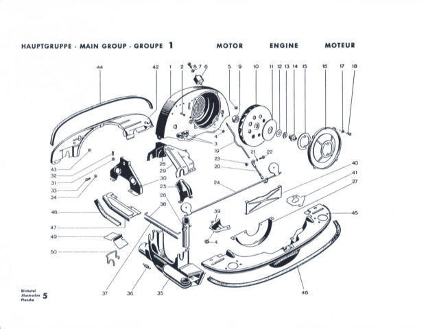 part diagram comparison  pet v  original factory