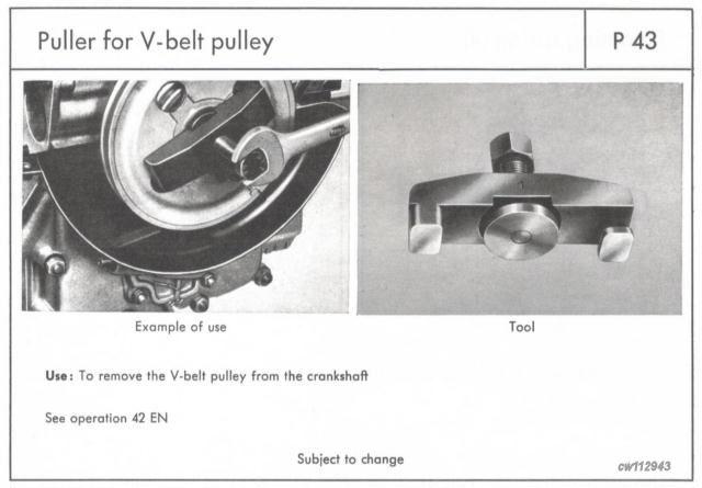356 Porsche Factory Tools