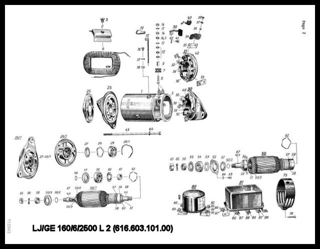 PGen356A2 bosch electrical parts for 356 porsches bosch generator diagram at bakdesigns.co