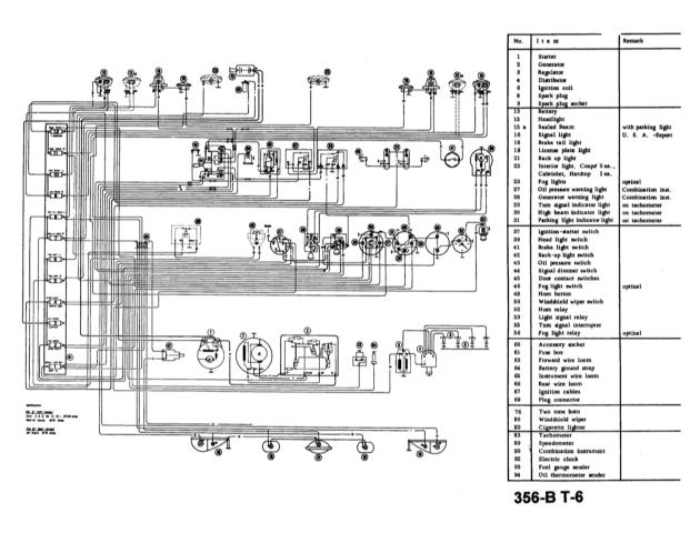 356-b t-5 black and white electrical wiring diagram